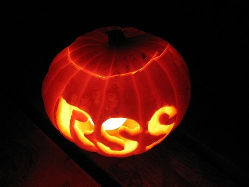 rss icon pumpkin