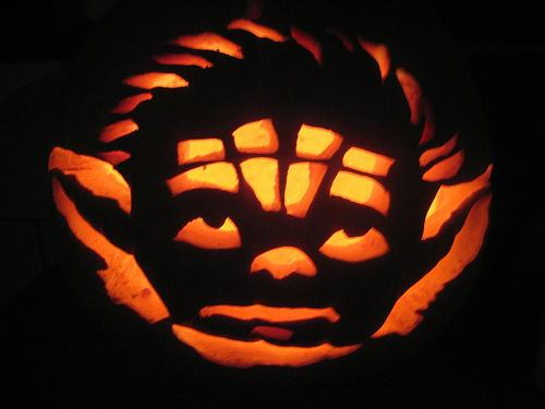 yoda pumpkin carving