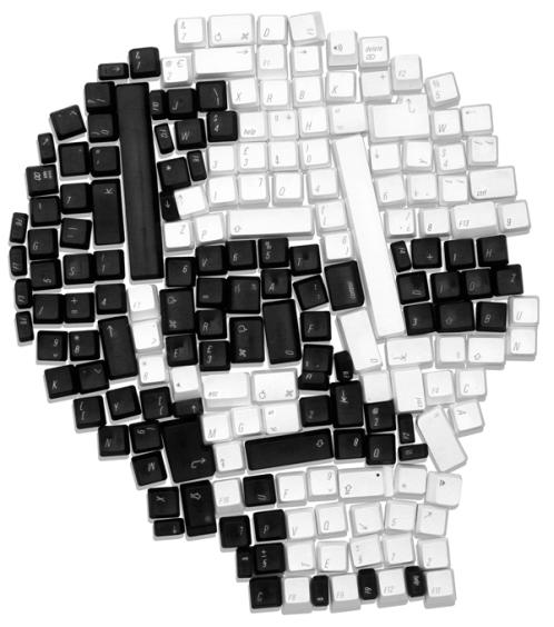 mac-keyboard-skull-shirt
