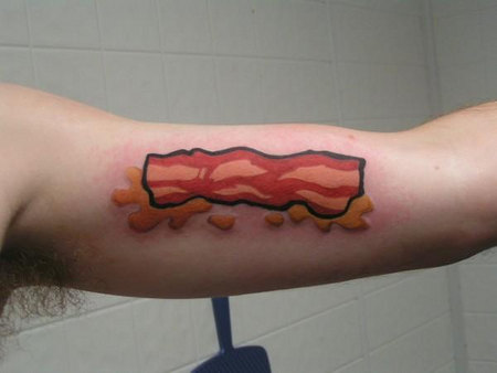 to get a colorful tattoo immortalized on their arm for all to see.