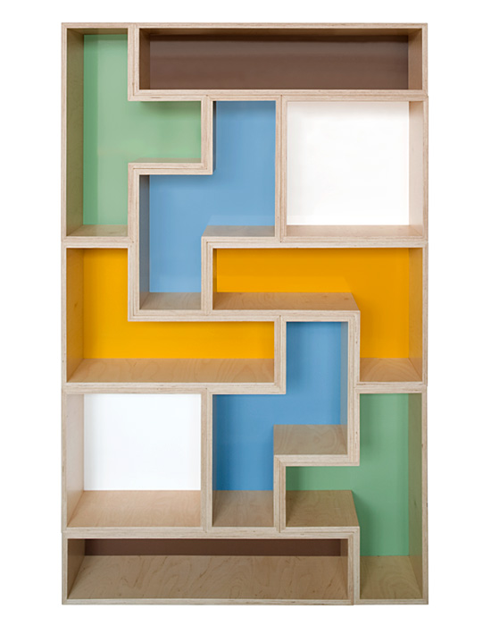 cool tetris furniture shelves