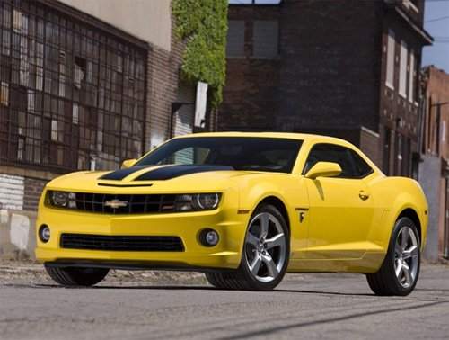 bumblebee transformer chevy camaro car