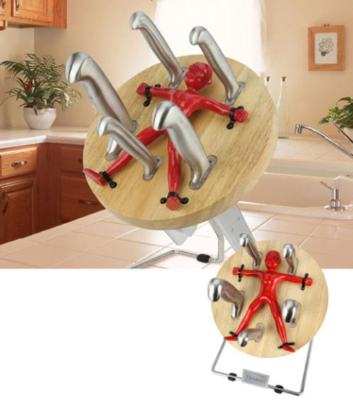 kitchen gadgets knife block