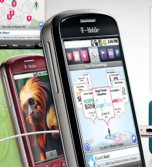 mytouch 3g android smartphone waze