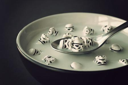 star wars stormtroopers breakfast cereal