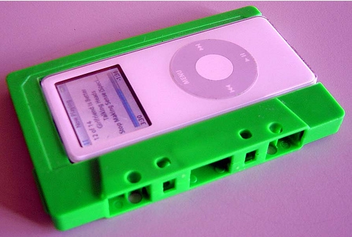 cool ipod cassette tape case