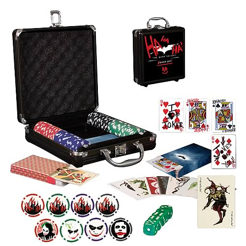 batman joker poker set