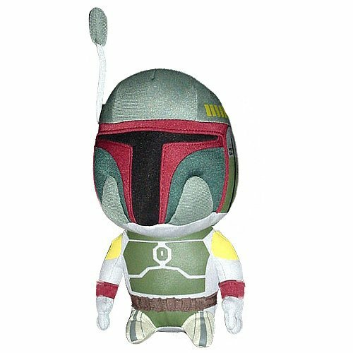 star wars boba fett plush toy