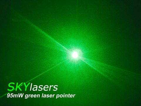 cool green laser pointer