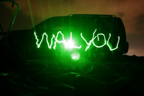 green laser pointer walyou