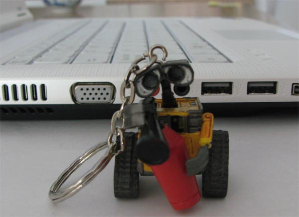 cool usb flash drive of Wall E