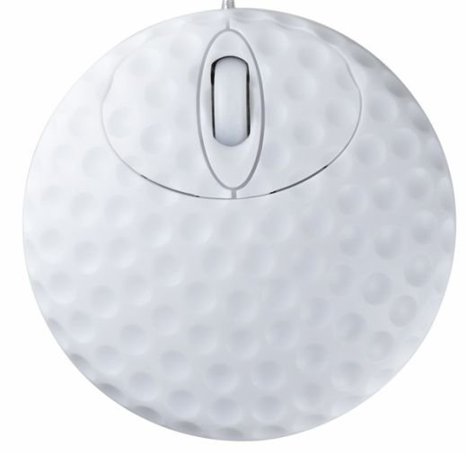 golf ball mouse