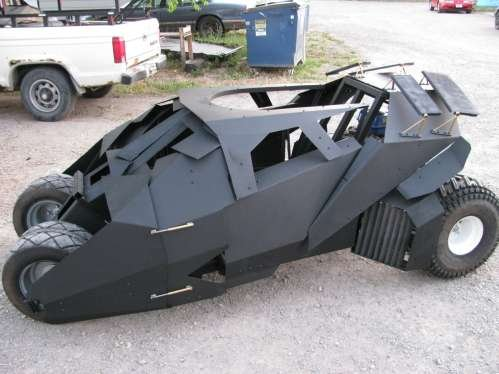 new batmobile batman go kart