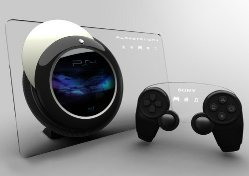 ps4 game console design