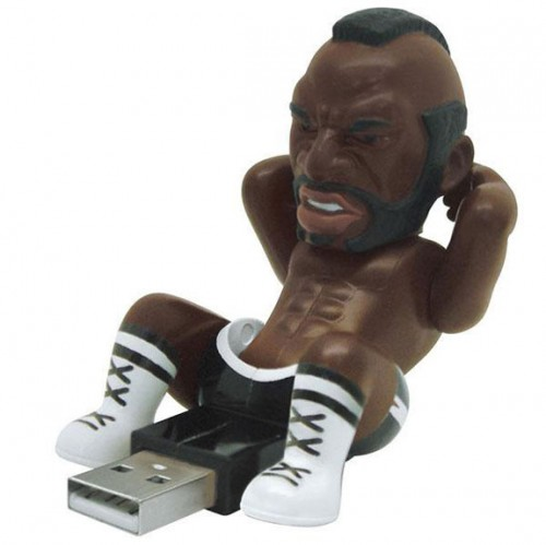 mr. t usb toy action figure