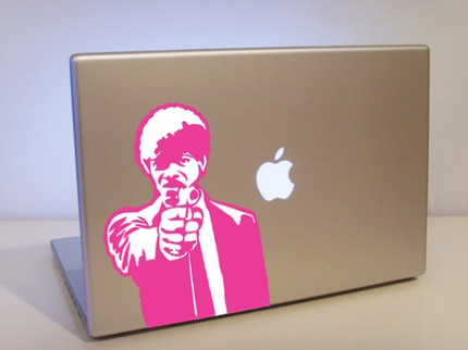 cool pulp fiction jules laptop decals