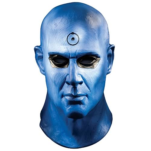 watchmen dr manhattan face mask