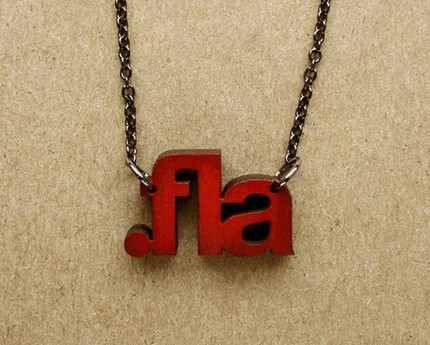 adobe flash file extension necklace