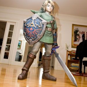 Rebecca's Papercraft Collection Link-legend-of-zelda-papercraft