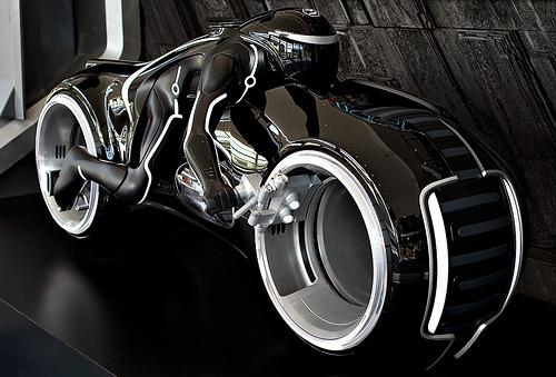 tron legacy black light cycle