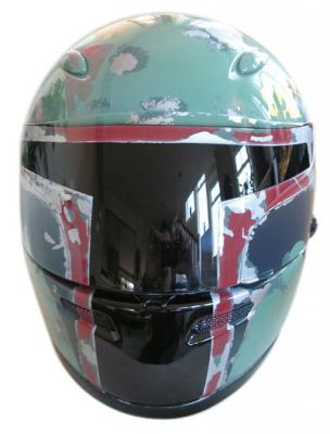 cool boba fett helmet for motorcycle