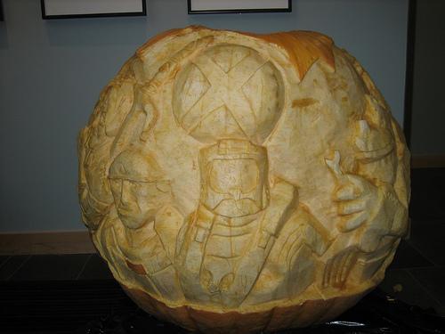 halo xbox 360 pumpkin