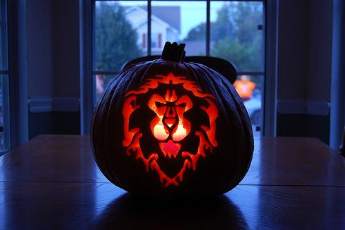 world of warcraft alliance pumpkin