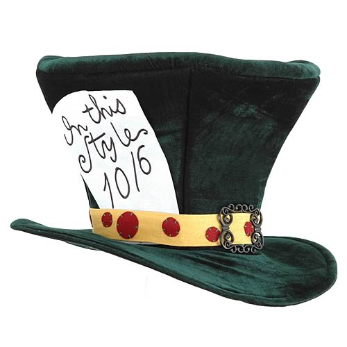 Inspired from the headgear of the riddle throwing character 'Mad Hatter'