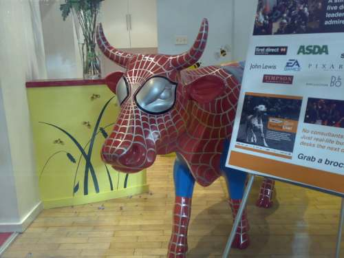 Spider Cow WhatIf Innovation London
