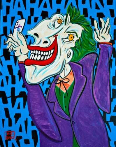 joker picasso drawing