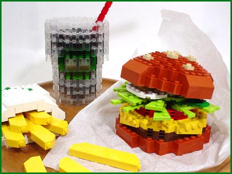 lego cheeseburger combo