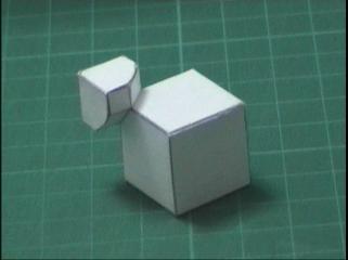 paper rubik's cube corners