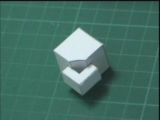 paper rubik's cube edges