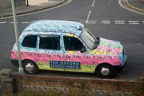 periodic Table of elements taxi 2