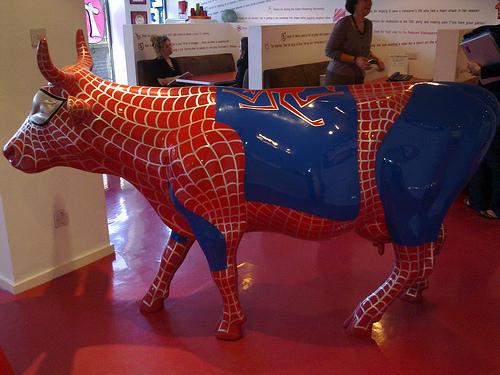 spiderman cow peiber