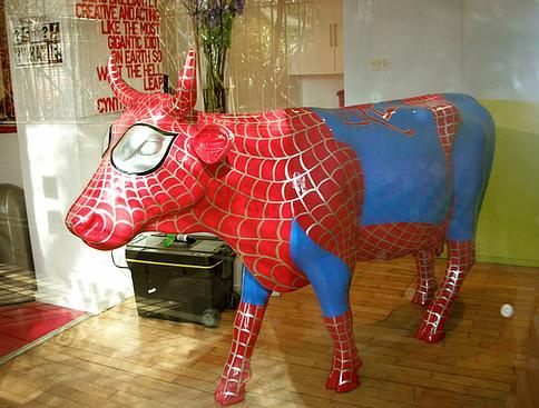 spiderman cow roxanna