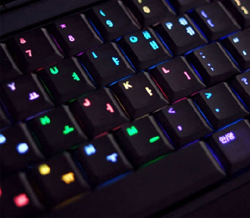 New Color Changing Luxeed U5 LED Keyboard1 The Colorful Luxeed U5 Dynamic Pixel LED Keyboard