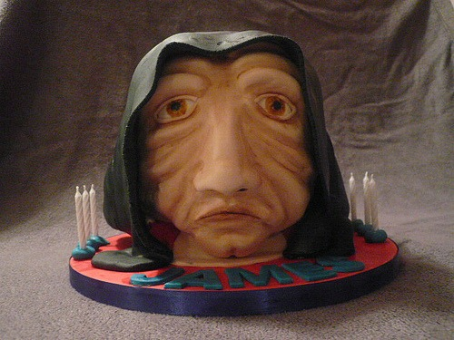 Geeky Star Wars Emperor Palpatine Cake Design. December 14th, 2009 .