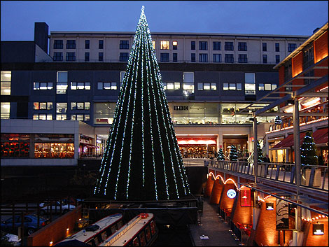 artificial bbc birmingham tree