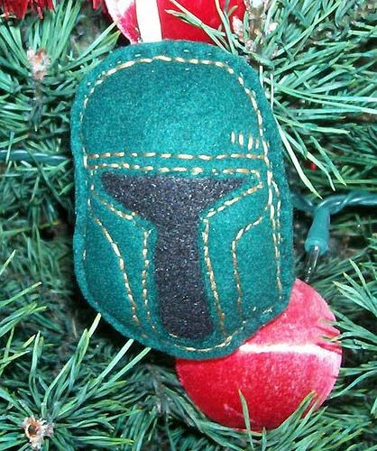 boba fett cool ronament