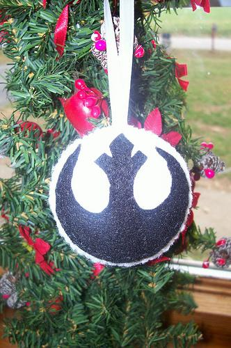 cool star wars felt ornament