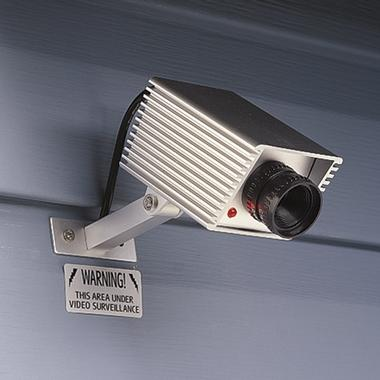 fake security camera surveillance 16 Anti Theft Gadgets and Designs to Deter Thieves