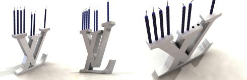 louis vuitton menorah