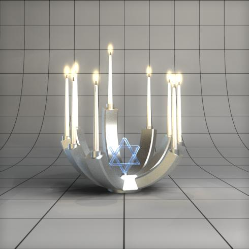 mysterious menorah
