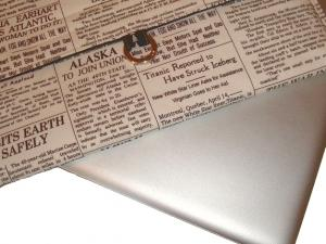 newspaper notebook sleeve 16 Anti Theft Gadgets and Designs to Deter Thieves