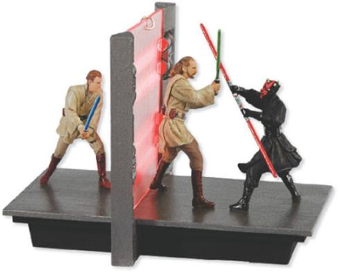 star wars action duel ornament