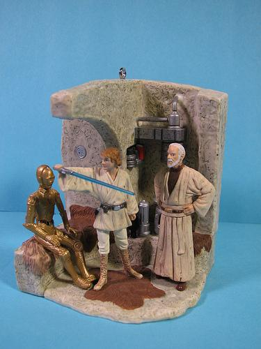 star wars action jedi ornament