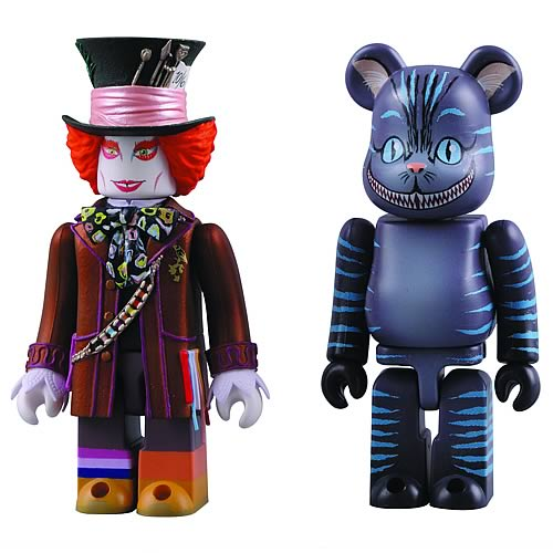 Mad Hatter And Cheshire Cat Kubrick Will Take You To Alice In The Wonderland
