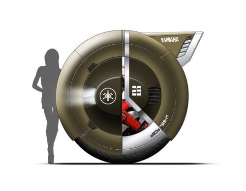 Wheel Rider 3 The Wheel Rider Concept is a Futuristic Personal Commuting Machine