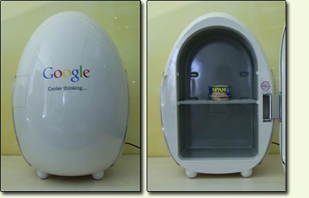 google egg fridges